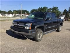 2004 Chevrolet 2500HD Crew Cab Long Bed 4x4 Pickup