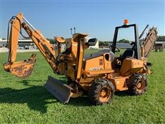 2010 Astec RT560 Trencher/Backhoe/Backfill Blade