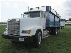 1989 Freightliner FLD12064ST Tri/A  Grain Truck