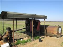 Case IH 4391T Power Unit W/Generator, Fuel Tank & Canopy