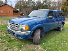 2002 Ford Ranger Supercab Pickup