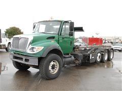 2005 International Workstar 7600 Tri/A Roll Off Truck