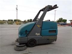 Tennant S 20 Sweep Max Self Propelled All Electric Floor Sweeper