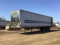 1989 Dorsey 48' T/A Enclosed Trailer W/Water Tender