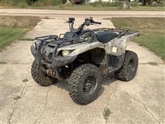 2007 Yamaha Grizzly 700 ATV