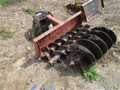 General Quick Tach HD Hydraulic Drive Post Hole Digger