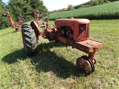 1940 Allis-Chalmers RC 2WD Tractor