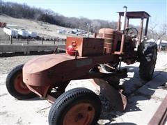 1946 Farmall M 2WD Tractor W/Trojan Speed Patrol Attachment