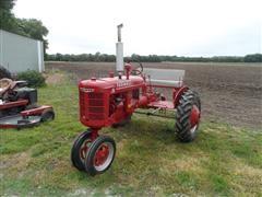 1940 McCormick Deering B 2WD Tractor
