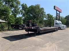 2005 Trail-Eze TE701 Hydraulic-Fold T/A Drop Deck Trailer