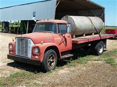 1963 International 1600 Flatbed Truck W/1000 Gallon Water Tank