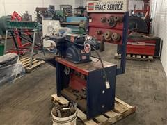 Ammco Model 4000 Safe-Turn Brake Lathe