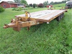 1976 Flying L Mov-It TRI-A Flatbed Trailer