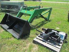 DU-AL 3100 Tractor-Mounted Loader