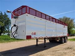 2016 MAS 36' T/A Silage Trailer