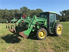 1993 John Deere 6300 MFWD Tractor