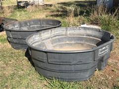 Rubbermaid 300 Gallon Livestock Tanks