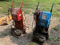 Robinair 1020 And 10295A Refrigerant Recovery/ Recycle Machines