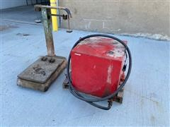 Scale And Fuel Tank