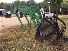 Great Bend 870 Loader With Grapple Bucket