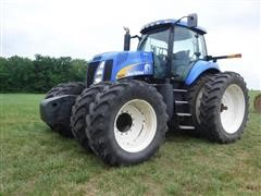 2010 New Holland T8030 MFWD Tractor