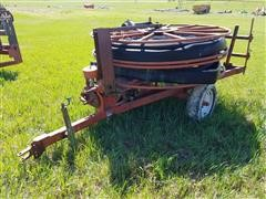 Heinzman 1145 Hose Reel Cart