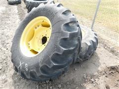 Goodyear 19.5-24 Tires On JD Rims