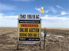 159.18+/- Acres Cheyenne County, KS