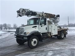 2007 International 7400 Digger Derrick Truck