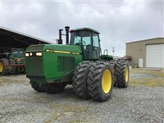 1993 John Deere 8760 4WD Tractor