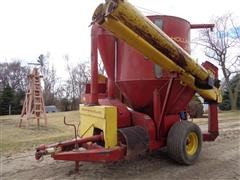 New Holland 355 Grinder Mixer W/Scale