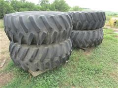 Firestone Super All Traction 23.1-26 Flotation Tires & Rims