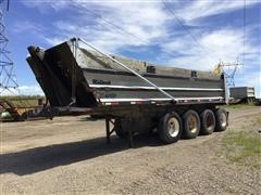 1994 Midland XL 4000 Quad/A End Dump Trailer