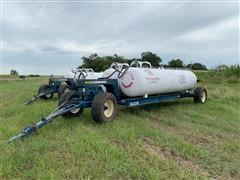 2011 Duo-Lift LB2900 Running Gear W/Dual Anhydrous Ammonia Tanks
