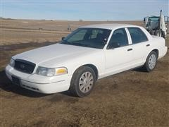 2009 Ford Crown Victoria Police 4 Door Sedan