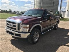 2008 Ford F250 Lariat Super Duty 4x4 Crew Cab Pickup