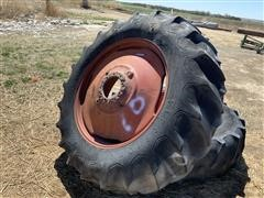 Firestone 18.4 X 38 Dual Tires & Wheels
