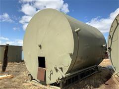 300 BBL Frac Tank On Skid