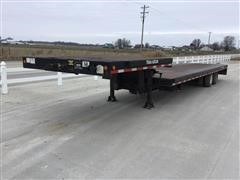2001 Trail-Eze ADLX 20 TC T/A Sliding Axle Trailer