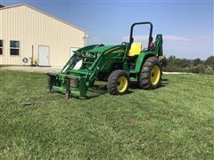 2012 John Deere 4320 MFWD Tractor W/Loader & Backhoe