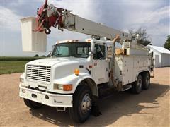 1997 International 4900 T/A Bucket Truck