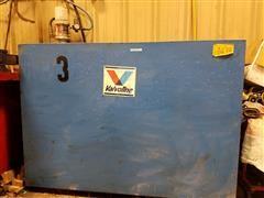 Oil Tank, Pump, Hose With Metered Dispenser & Hose Reel