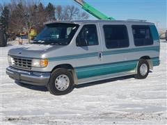 1995 Ford Econoline E150 Conversion Van W/Wheel Chair Lift