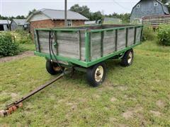 John Deere Harvest Dump Wagon