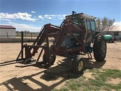 1970 Ford 8000 2WD Tractor W/Loader