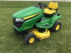 """2017 John Deere X370 Lawn Tractor W/ 42"""" Deck"""