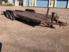 2009 Kaufman T/A Flatbed Trailer