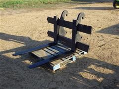 Caterpillar IT-14 Loader Mount Pallet Forks