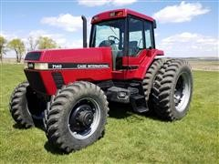 1992 Case International 7140 MFWD Tractor