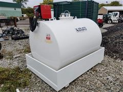 2017 Emiliana Serbatoi 3000 Fuel Tank With Pump, Meter & Containment System